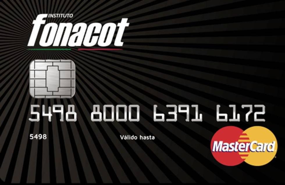 Crédito Fonacot con tarjeta Mastercard