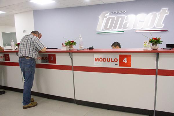 Oficinas de Atención al Cliente en Fonacot